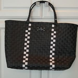 NEW Kate Spade Large Woven Tote Bag